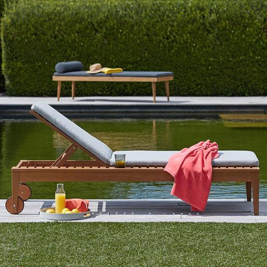 Transat de piscine