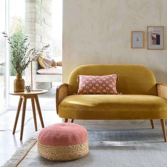 Bout de canapé en bois
