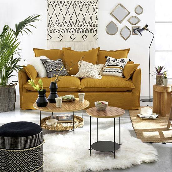 Canapé confortable avec assise Bultex