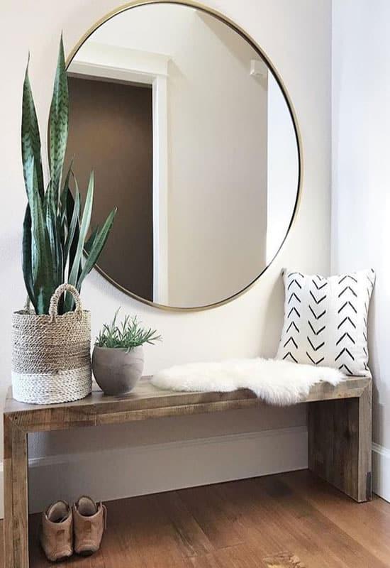 Miroir de couloir