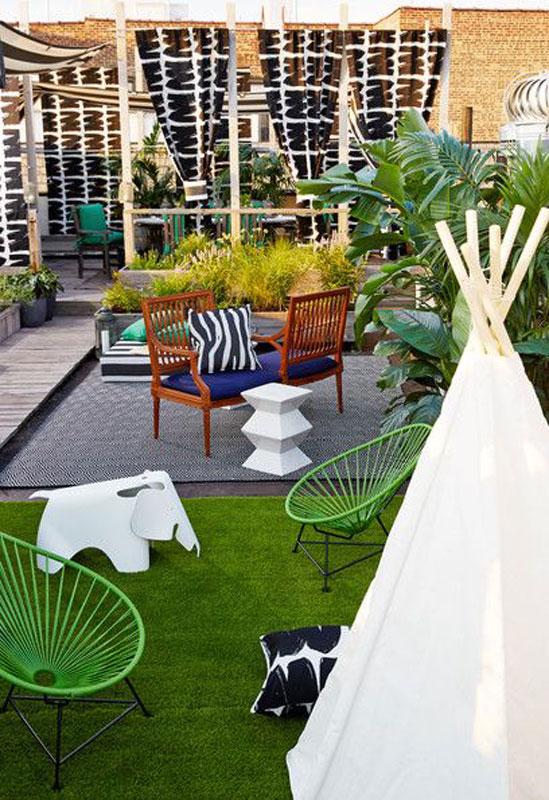 Fauteuil Acapulco pour jardin ou terrasse