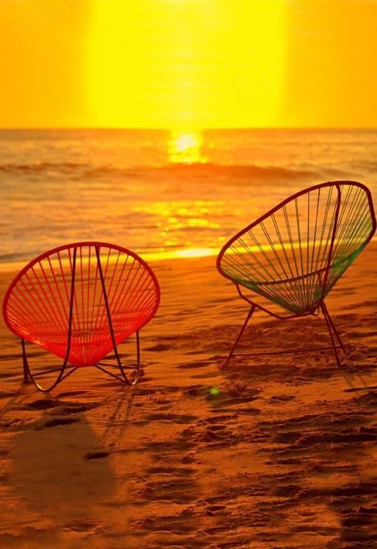 Origines du fauteuil Acapulco
