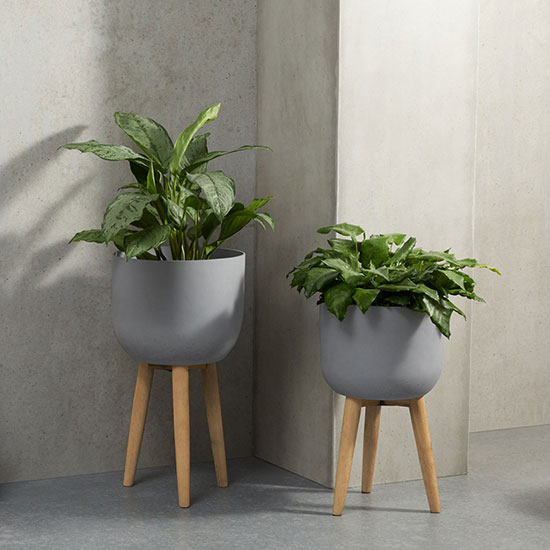 Porte-plantes style scandinave