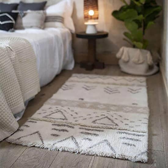 tapis lavable en machine berbère