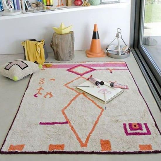 tapis lavable en machine de salon