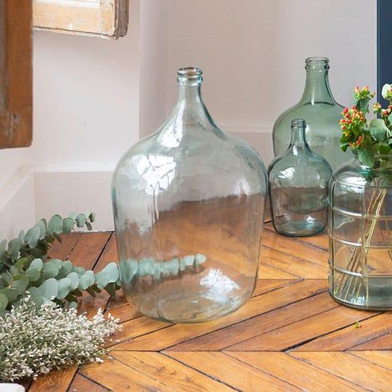 Bonbonne en verre recyclé