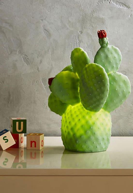 Cactus déco lumineux