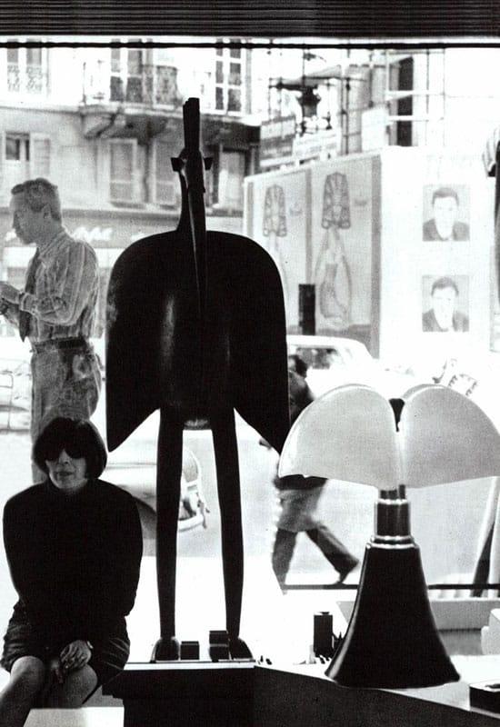 Gae Aulenti, photographiée par Marchi Rolly