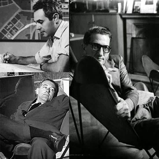 Les 3 designers de la chaise BFK