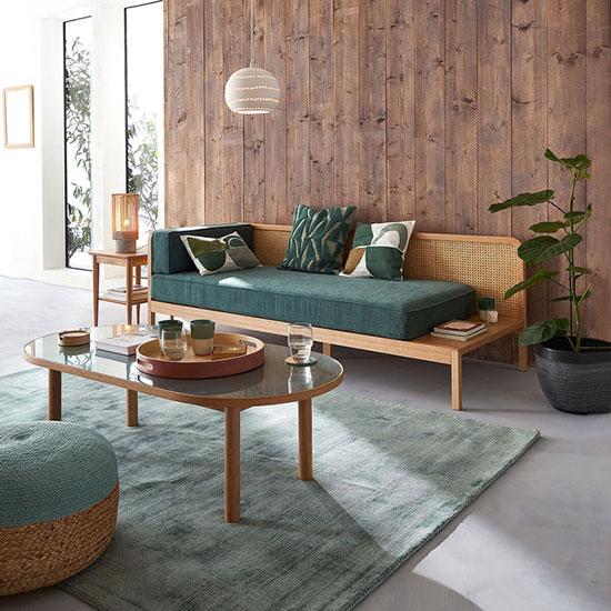 Ensemble de mobilier fonctionnel pour un séjour cocooning