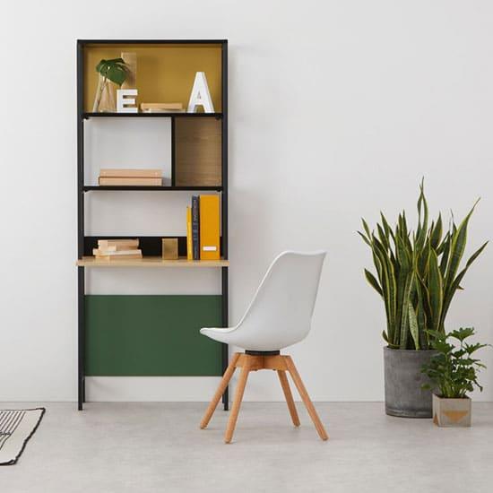 Bureau bibliothèque meuble