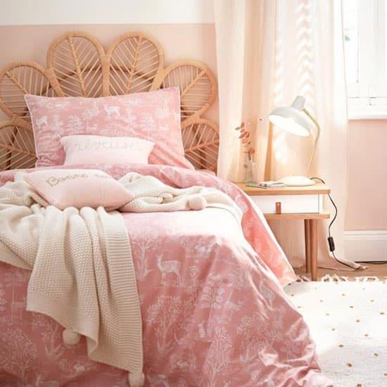 Tête de lit en rotin pour enfant ou 1 personne