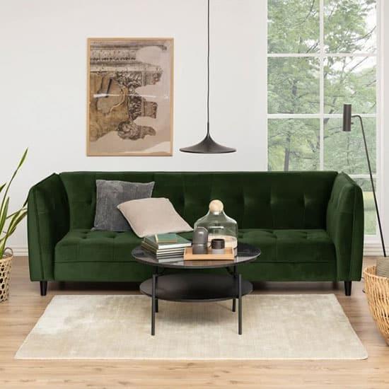 Canapé convertible vert