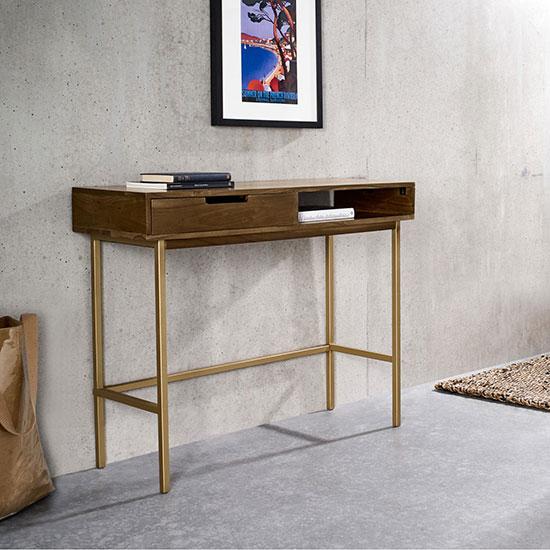 Console d'entrée avec tiroirs ou petit bureau