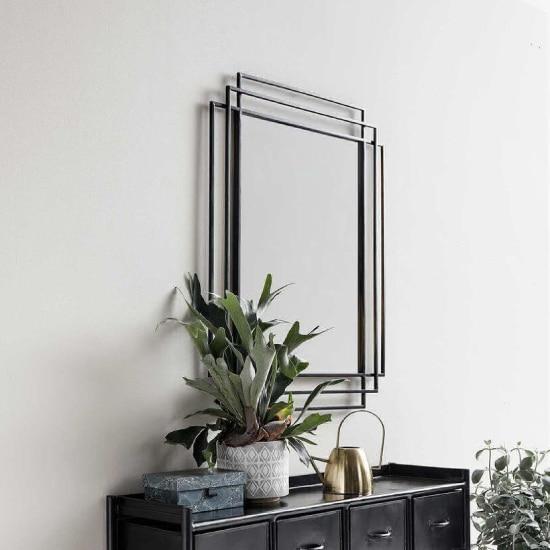 grand miroir art déco mural