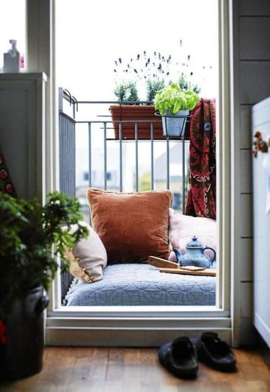 Balcon de 5 m2