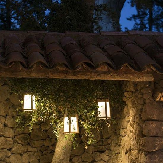Lanterne de jardin rechargeable