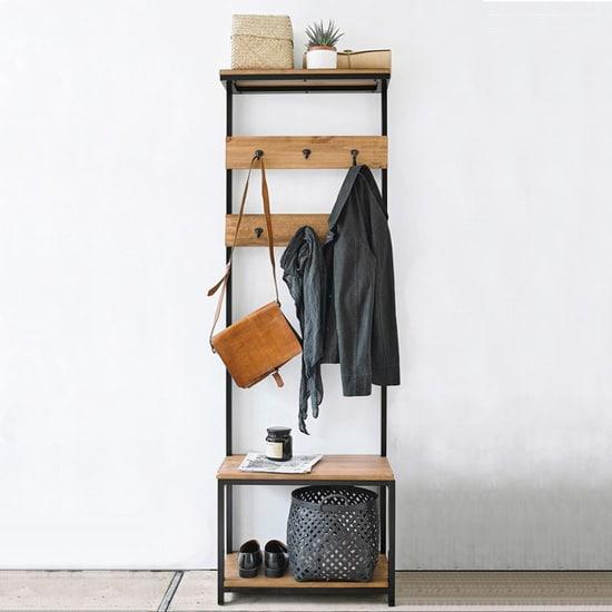 Vestiaire d'entrée minimaliste