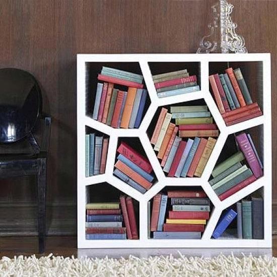 Bibliothèque originale forme organique