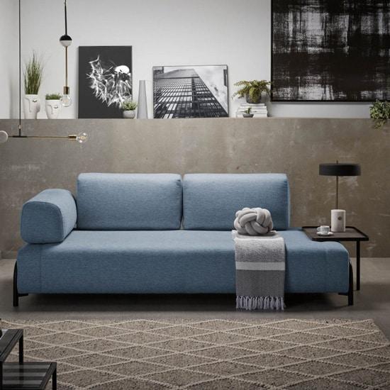 Canapé original avec bout de canapé intégré