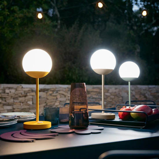 lampe nomade rechargeable type veilleuse