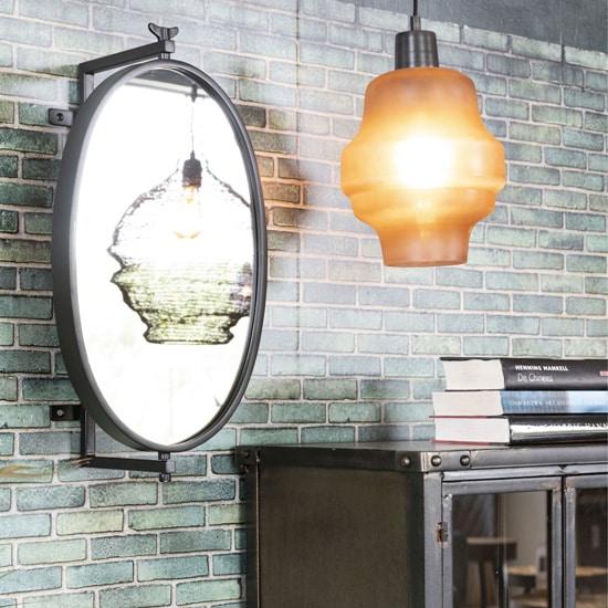 Miroir industriel oval