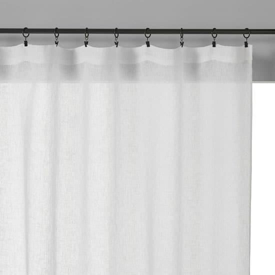 Les différentes méthodes d'accroches pour rideau en lin