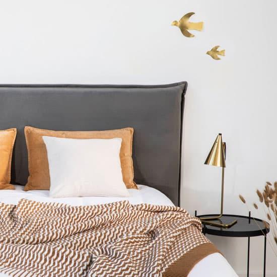 Idée tête de lit en velours