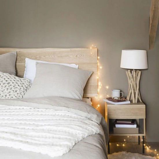 Idée tête de lit en bois