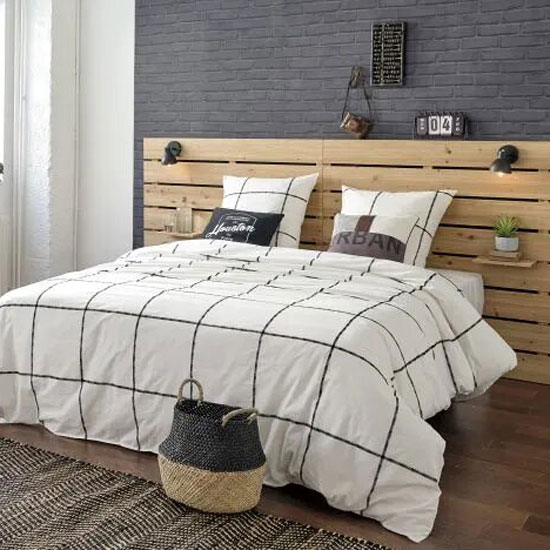 idée tête de lit type palette