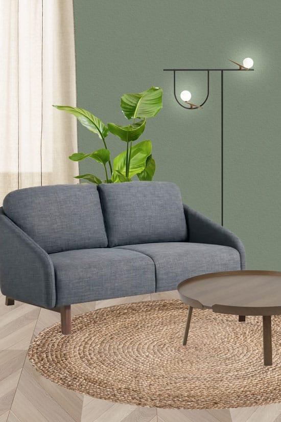 Quelle déco autour d'un petit canapé ?