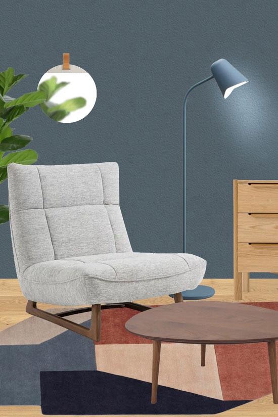 Quelle déco avec un fauteuil lounge ?
