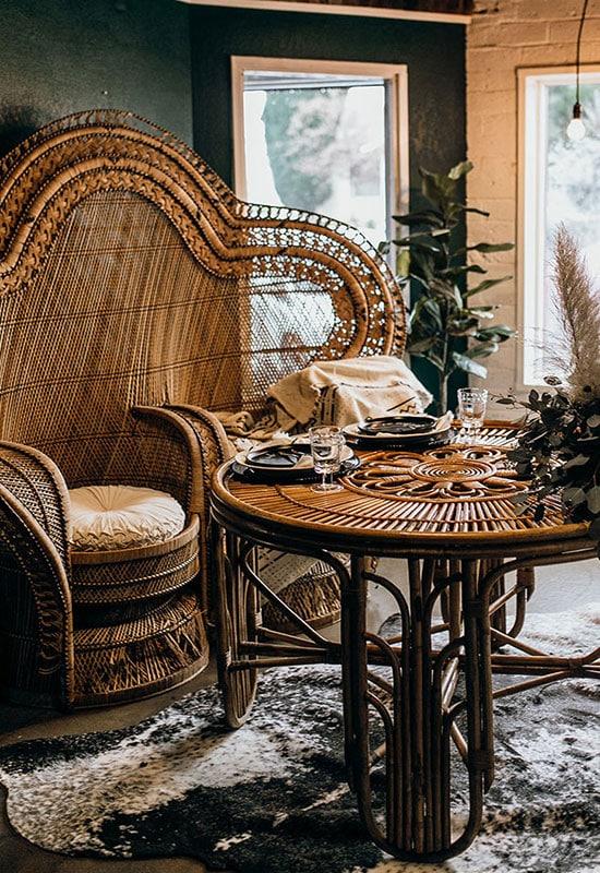 Majestueux fauteuil idéal pour les évènements