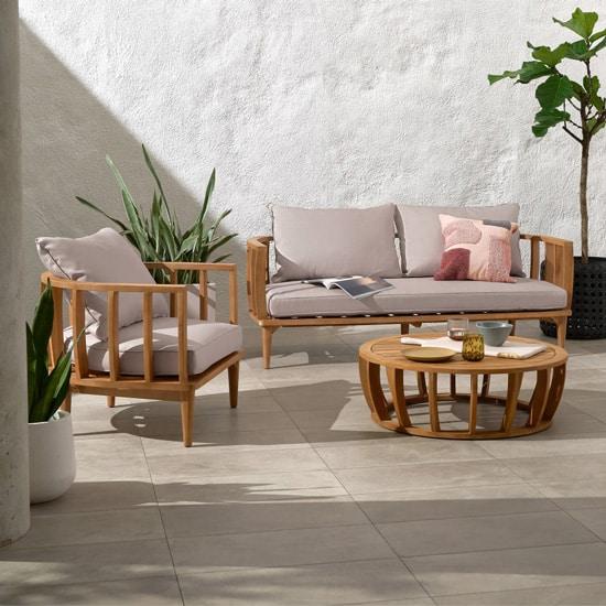 Salon de jardin extérieur design